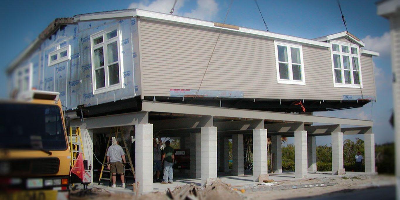 Awesome Manufactured And Modular Stilt Homes In Florida Florida Home Interior And Landscaping Mentranervesignezvosmurscom