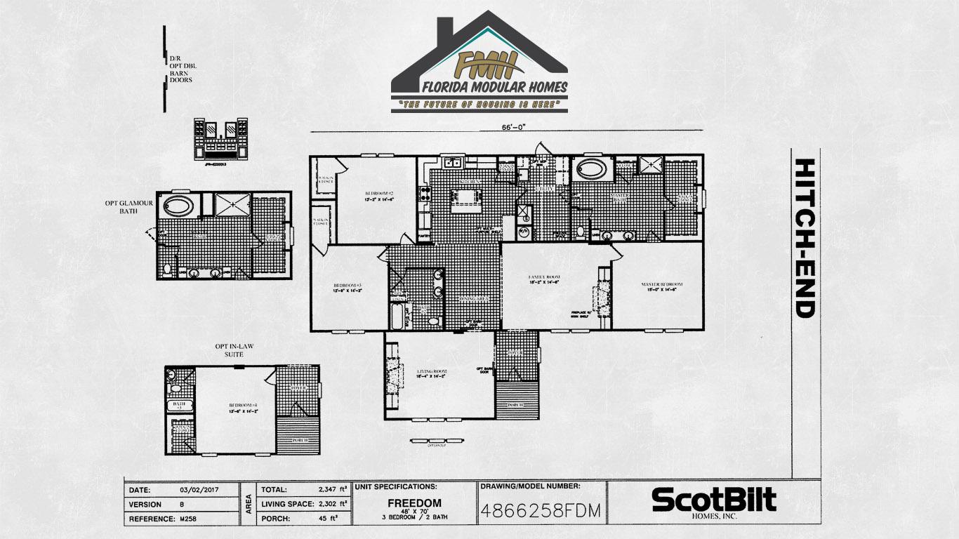 The Triple Wide Florida Modular Homes